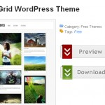 Shaken Grid wordpress theme