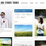 Shaken Grid Wordpress Themes